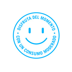 Consumo moderado – Sello