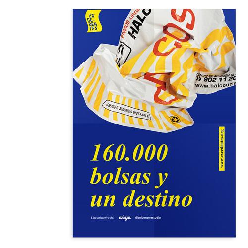 160.000 bolsas y un destino – Póster