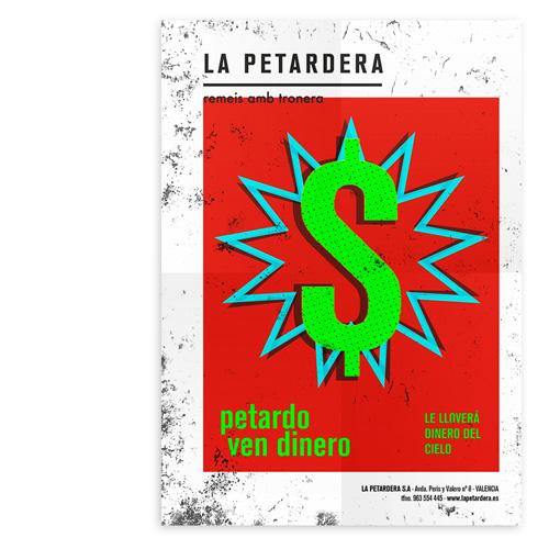 La Petardera – Póster