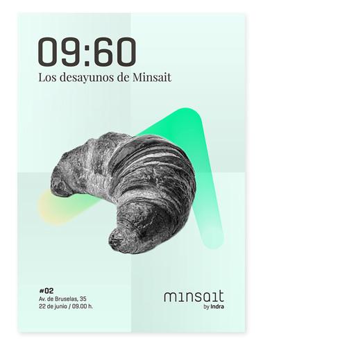 Los Desayunos de Minsait – Póster (2/2)