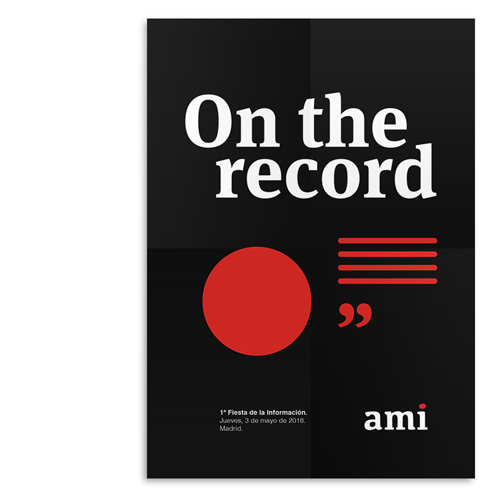 On the record – Póster